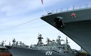 Picture squadron, destroyer, Admiral Ushakov