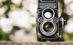 Picture the camera, vintage, Rolleiflex, TLR
