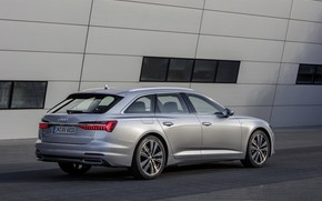 Picture wall, Audi, 2018, universal, gray-silver, A6 Avant