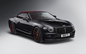 Picture machine, Bentley, Continental GT, convertible, Mulliner, Number 1Edition