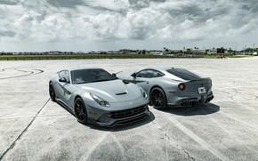 Picture Ferrari, Gray, Berlinetta, F12, Duet
