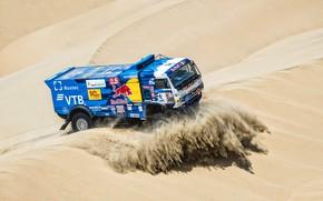 Picture Sport, Machine, Truck, Master, Russia, 500, Kamaz, Rally, Dakar, KAMAZ-master, Dakar, Dunes, Rally, KAMAZ, The …