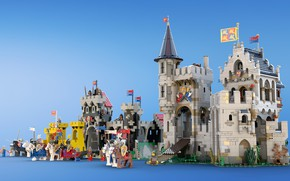 Picture the game, lego, Castles of Old, Castle of Lord Afol