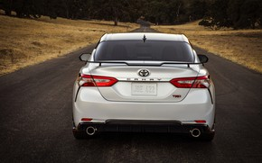 Picture white, Toyota, sedan, TRD, feed, Camry, 2020