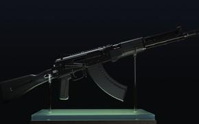 Picture rendering, weapons, gun, weapon, render, Kalashnikov, assault rifle, assault Rifle, 7.62, Kalashnikov, AKM, akm, AK …