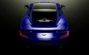 Picture Aston Martin, rear view, Vanquish