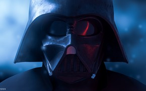 Picture fiction, mask, Star Wars, art, Darth Vader, art