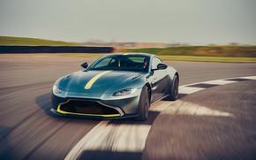 Picture machine, Aston Martin, speed, Vantage, sports car, racing track, AMR