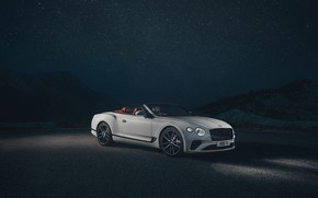 Picture night, Bentley, Continental GT, Convertible, 2019