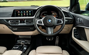 Picture BMW, the wheel, salon, Gran Coupe, UK-spec, 2-Series, M Sport, 2020, 218i, F44