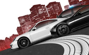 Picture road, machine, the city, car, 2012, Need For Speed: Most Wanted