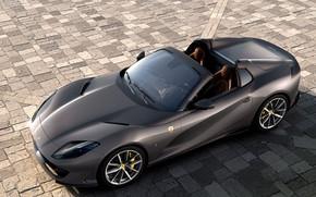 Picture machine, lights, Ferrari, sports car, GTS, 812