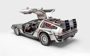 Picture Hollywood, Back to the future, DeLorean DMC-12, DeLorean, 1990, Back to the Future