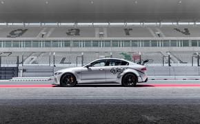 Picture Jaguar, side view, 2018, XE SV, Project 8