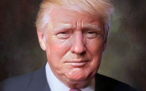 Picture Look, Hair, USA, President, Art, Tie, United States Of America, Donald Trump, The 45th President …