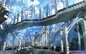 Picture bridge, interior, art, structure, waisshu (sougyokyuu)