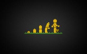 Picture toy, man, elements, designer, LEGO