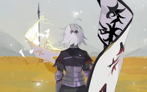 Picture girls, flags, Fate / Grand Order, The destiny of a great campaign