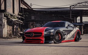 Picture Auto, Machine, Mercedes, Car, Rendering, Sports car, Mercedes-Benz AMG GT, Transport & Vehicles, Javier Oquendo, …