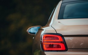 Picture Bentley, lantern, body, Flying Spur, 2020, V8, 2021, Flying Spur V8