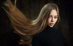 Picture look, girl, model, hair, Cherepko Paul
