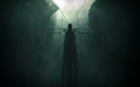 Picture Fantasy, Ghost, Art, Cloak, 25m42, In the bright dark