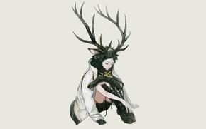 Picture being, fantasy, horns, guy, Volleyball, Haikyuu, Akaashi Keiji