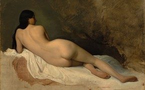 Picture French painter, 1841, French painter, Museum of art Cleveland, Cleveland Museum of Art, Isidore Alexander …