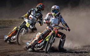 Wallpaper motorcycles, race, Speedway