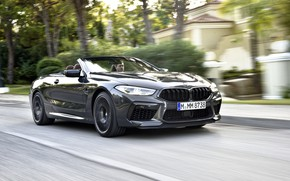 Picture movement, BMW, convertible, 2019, BMW M8, M8, F91, M8 Competition Convertible, M8 Convertible