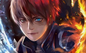 Picture My Hero Academia, Boku No Hero Academy, Todoroki Shoto, My Hero Academy