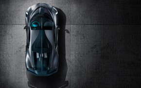 Picture Bugatti, supercar, the view from the top, 2018, hypercar, Divo