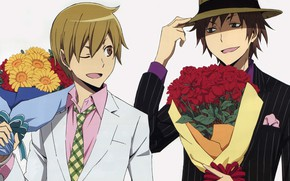 Picture bouquet, guys, Durarara, Durarara