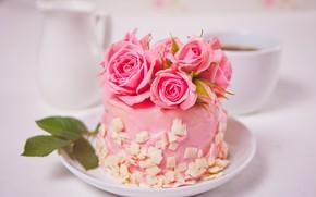 Picture decoration, cake, dessert
