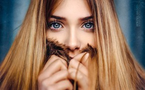 Picture eyes, look, girl, Victoria, Gustavo Terzaghi