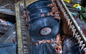 Picture music, vinyl, records