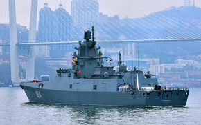 Picture frigate, Vladivostok, Admiral Gorshkov