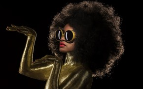 Picture girl, style, Disco queen