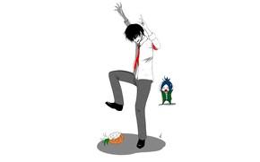 Picture pineapple, guys, the trick, Rakudo Mukuro, Katekyo Hitman reborn, Hibari Kyoya, Teacher mafia Reborn
