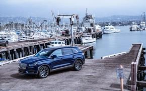 Picture auto, Lincoln, pier, boat, Nautilus