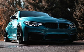 Picture BMW, Light, Blue, F80, LED