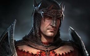 Picture Dante, Crusader, crusader, Dante's Inferno