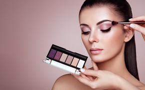 Picture girl, style, model, makeup, shadows, Oleg Gekman