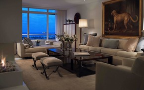 Picture room, interior, fireplace, living room, Palm Beach PH, by Bruce Bierman Desiign
