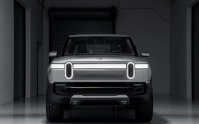 Picture front view, pickup, 2019, R1T, Rivian