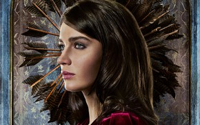 Wallpaper girl, beauty, adventure, action, poster, Robin Hood, Eve Hewson, Eve Hewson, Robin Hood: The Beginning