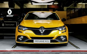 Picture Renault, front view, hatchback, 2018, Trophy, Megane RS