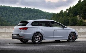 Picture side view, universal, Seat, 2015, Leon Cupra ST