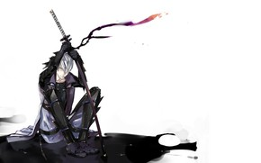 Picture background, katana, guy, Sengoku Basara, The Era Of Unrest