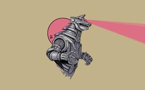 Picture Figure, Monster, Background, Godzilla, Art, Art, Godzilla, Gull, Creatures, By Leonardo Gonzalez, Leonardo Gonzalez, Kaiju ...